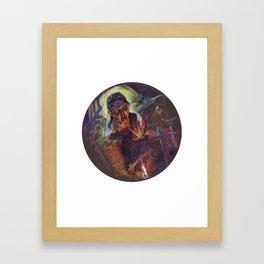 The Wolf Woman Framed Art Print