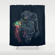 Jellyspace Shower Curtain