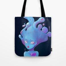 Sad Slime Girl Tote Bag