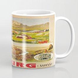 Vintage poster - Fribourg Coffee Mug