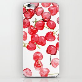 Cherry pies iPhone Skin