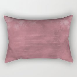 Burst of Color Rose Gold Abstract Fluid Art Blend Rectangular Pillow