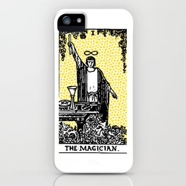 Modern Tarot - 1 The Magician iPhone Case