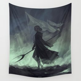 Last stand II Wall Tapestry