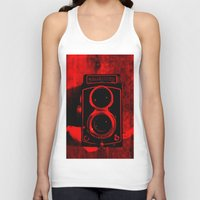 vintage camera Tank Tops featuring Camera by short stories gallery