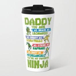 daddy turtle Travel Mug