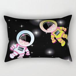 kokeshis espace Rectangular Pillow