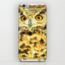 Cute Small Owl iPhone Skin