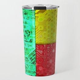 circuit board benin (flag) Travel Mug