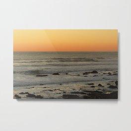 Big Sur Sunset Set Metal Print