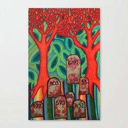 Mile 003 Canvas Print