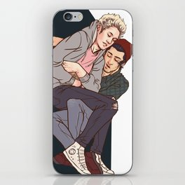 Couch Crashers- Ziall iPhone Skin