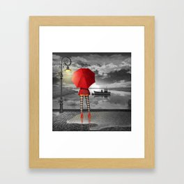 Sunny outlook Framed Art Print