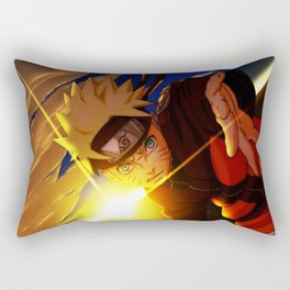 naruto spirit of fire Rectangular Pillow