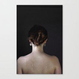 Sweat-2 Canvas Print