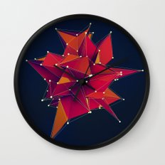 Architecture Polygons Wall Clock