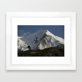 Karakorum Ridge Framed Art Print