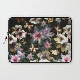 Amaryllis and Butterflies Laptop Sleeve