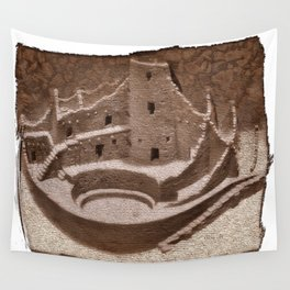 The Cliff Dwellers - Legends Of America Wall Tapestry