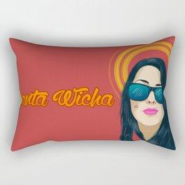 Santa Wicha Rectangular Pillow
