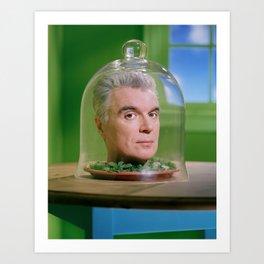 David Byrne Jarhead Art Print
