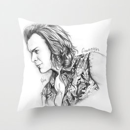 Harry Styles Sketch #1 Throw Pillow
