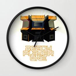 Minimalist Ready Player One Wall Clock