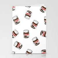 nutella Stationery Cards featuring Nutella by Iotara