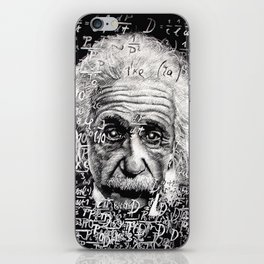 The Mind of a Genius iPhone Skin
