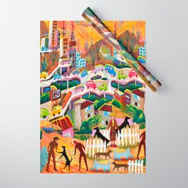 Ambos Nogales Wrapping Paper