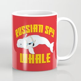 Russian Spy Whale Coffee Mug
