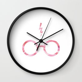 Pinkie Potter Wall Clock