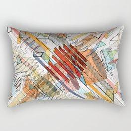 Collide Rectangular Pillow