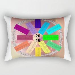 Kalender 2018 de - keltische Feiertage Rectangular Pillow
