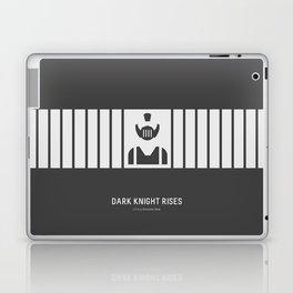 Flat Christopher Nolan movie poster: Dark K. R. Laptop & iPad Skin