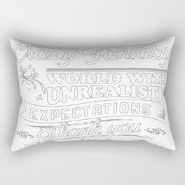 I Am A Scout Tee Rectangular Pillow