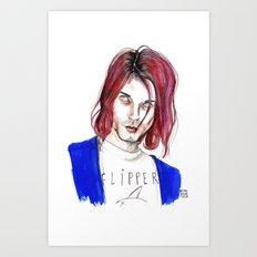 Kurt no,6 Art Print