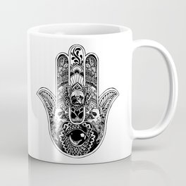Hamsa Hand Frenchie Coffee Mug