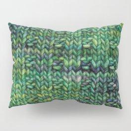 Knitted Basketweave Pillow Sham