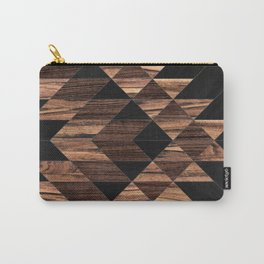 Urban Tribal Pattern No.11 - Aztec - Wood Carry-All Pouch