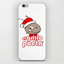 GRILLO NAVIDEÑO iPhone Skin