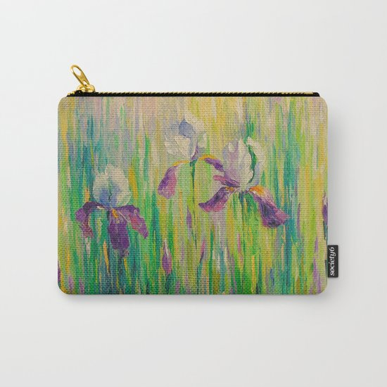 Morning with irises Carry-All Pouch
