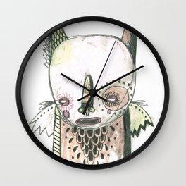 Random Monster Drawing 01 Wall Clock