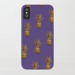 Ultra Pineapple Pattern iPhone Case