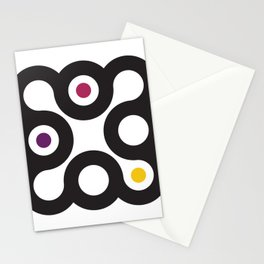 Circles 3x3 #3 Stationery Cards