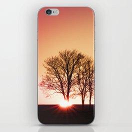 powerful light of nature iPhone Skin