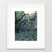 oakland Framed Art Prints featuring Oakland Arches by Scarlet Tinsey