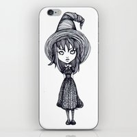 witch iPhone & iPod Skins featuring Witch by Margret Stewart