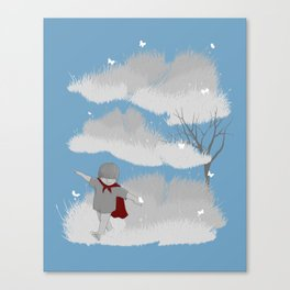 A cloudy day Canvas Print