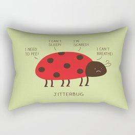 jitterbug Rectangular Pillow